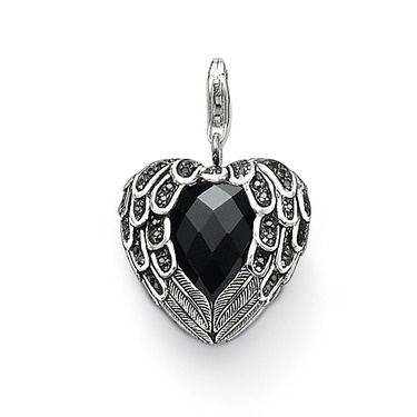36 best thomas sabo images on pinterest thomas sabo jewerly and feather heart pendant thomas sabo aloadofball Choice Image