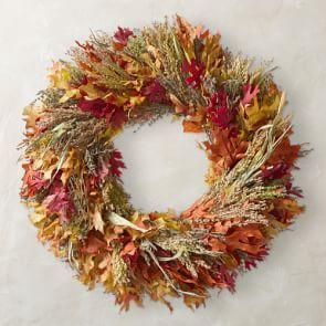 Farmers' Market Wreath, 30″