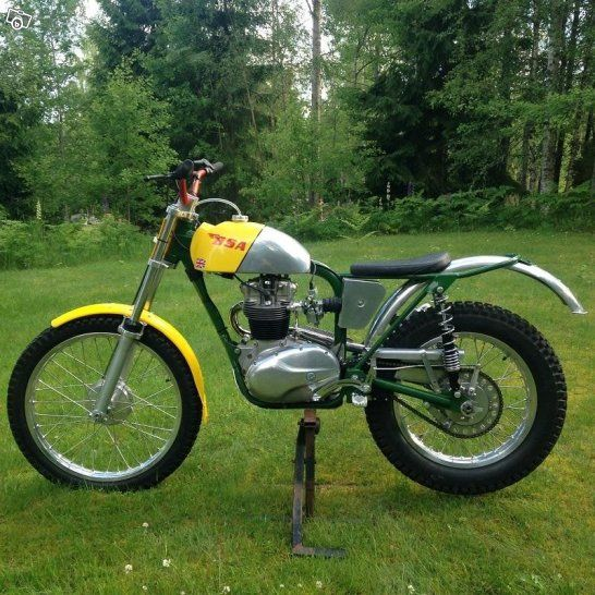 BSA C15 Trials 1960 The C15 is pretty horrid normally, but this one's a cutie!