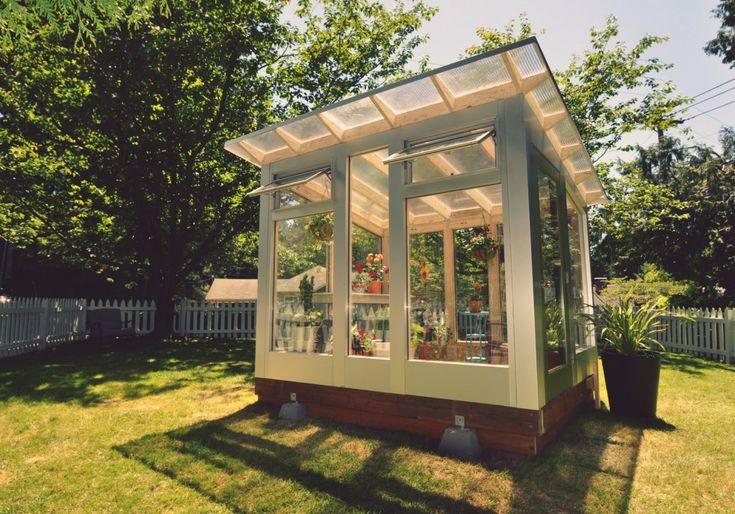 Studio Sprout by Studio Shed | DIY Greenhouse Kits & Contemporary GreenhousesStudio Shed | Modern, Prefab Backyard Studios & Office Sheds | Custom Sheds & DIY Kits