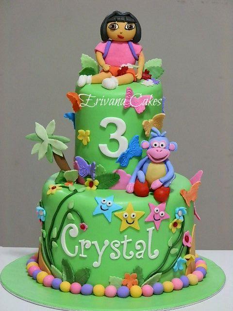 Dora the explorer cake 6