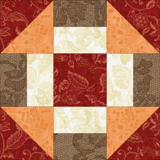 Grecian Square, a Free Quilt Block Pattern: Introduction to the Grecian Square Quilt Block Pattern