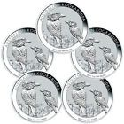 ♦Δ 2017-P Australia $1 1 oz #Silver #Kookaburra Lot-5 Coins  (Mint Cap) SKU... Best Value http://ebay.to/2hc2a1E