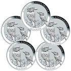 ☼✯ 2017-P Australia $1 1 oz #Silver #Kookaburra Lot-5 Coins  (Mint Cap) SKU... Best http://ebay.to/2wMAxBZ