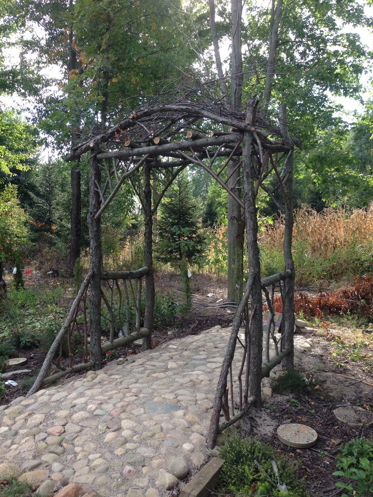 images about Arbors on Pinterest Gardens Rustic