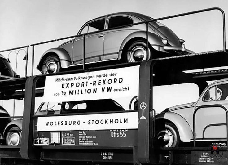 Wolfsburg alemania exportación 1/2 millón