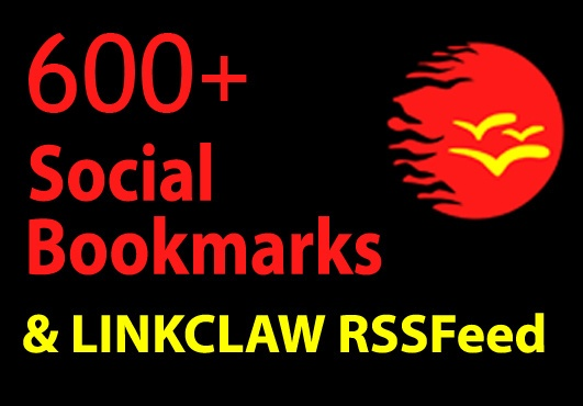 msc_miracl3: add your link to 600+ Social Bookmarks + Ultra SPINNED Text + LinkClaw Rss Feed for $5, on fiverr.com