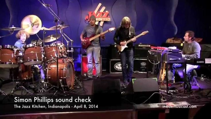 simon phillips sound check at the jazz kitchen in indianapolis part 1 https - Jazz Kitchen Indianapolis