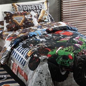 Monster Jam Twin Bedding Set $89.99