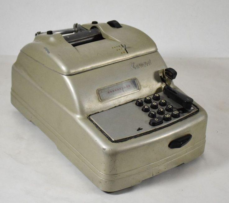 Everest macchina da calcolo elettromeccanica calculator Epoca  50 metallo -0AG