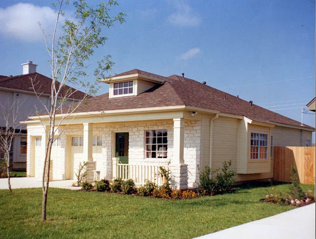 127 best bungalow images on pinterest exterior remodel for Austin stone house plans