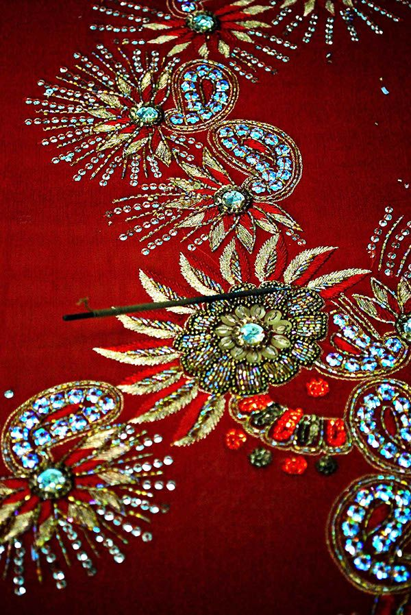The fascinating heritage of Zardozi Embroidery of India