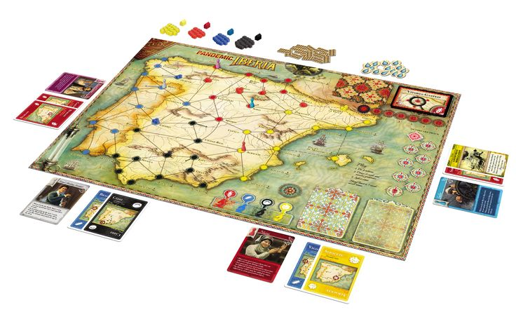 Pandemic Iberia | Image | BoardGameGeek