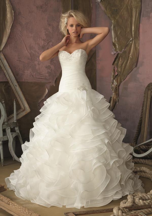 24 best vestidos Morilee images on Pinterest | Bridal gowns, Wedding ...