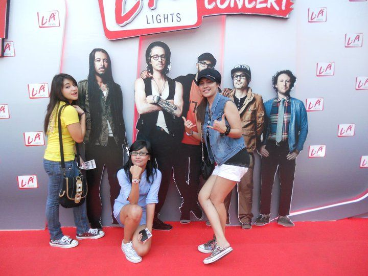 here's the Incubus concert!