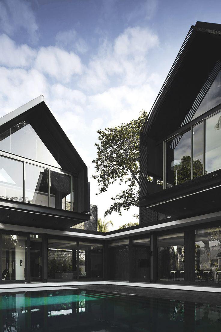 envyavenue: Svarga Residence by RT+Q Architects. Contemporary HousesModern  ...