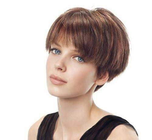 Short Straight Hairstyles Alluring 40 Best Short Straight Haircuts Images On Pinterest  Short