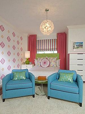 Κοριτσίστικο δωμάτιο: Μικρό αλλά στιλάτο