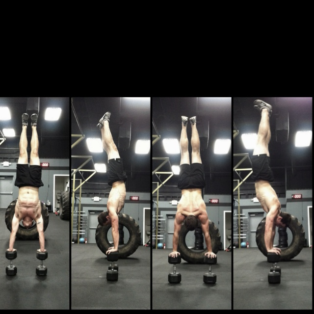 CrossFit stud...hey, that's my cousin!