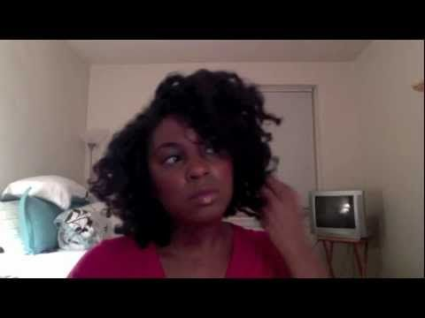 Flexi Rod Twist Out On Blow Dried Hair (Natural Hair)
