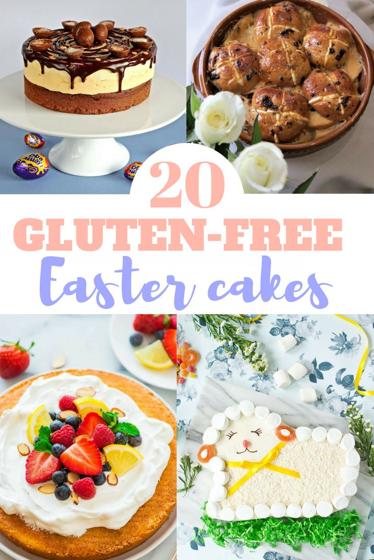 These gluten and dairy free easter cakes are perfect for celebrations. These gluten free cakes are perfect for easter- pick from gluten and dairy free hot cross buns, paleo easter cake and gluten free cream egg cake!