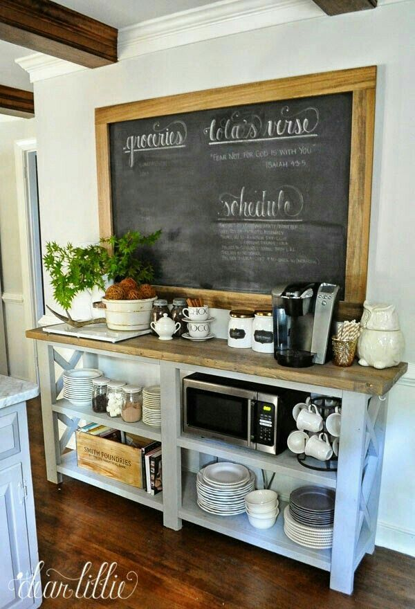 Always use extra space in kitchen