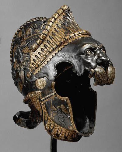 Renaissance Burgonet, Italy circa 1550                                                                                                                                                      More