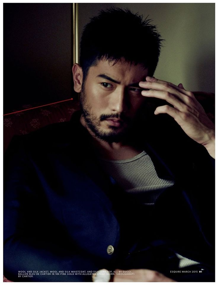 Godfrey Gao Esquire Singapore March 2015 Cover Photo Shoot 001 Godfrey Gao Poses for Moody Esquire Singapore Shoot