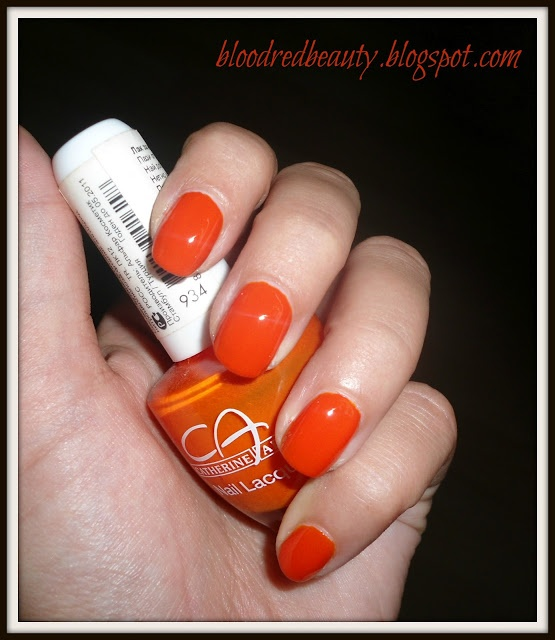 Blood Red Beauty NOTD - Catherine Arley # 934