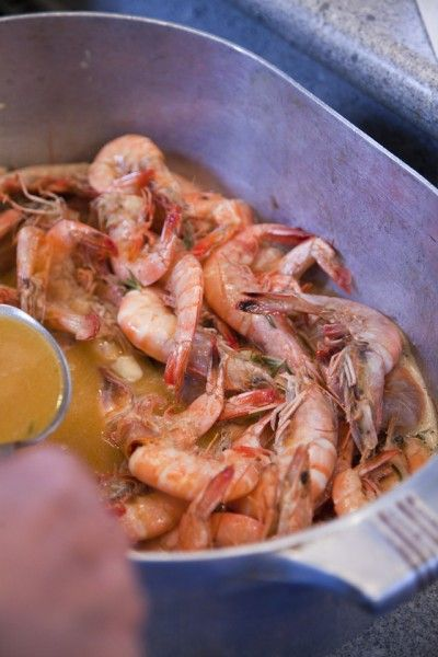 Southern food at it's best! Boo's Bar-B-Que Shrimp | DonalSkehan.com