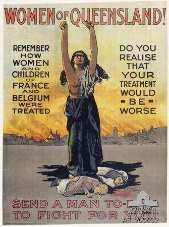 Poster: Women of Queensland!  1914-18