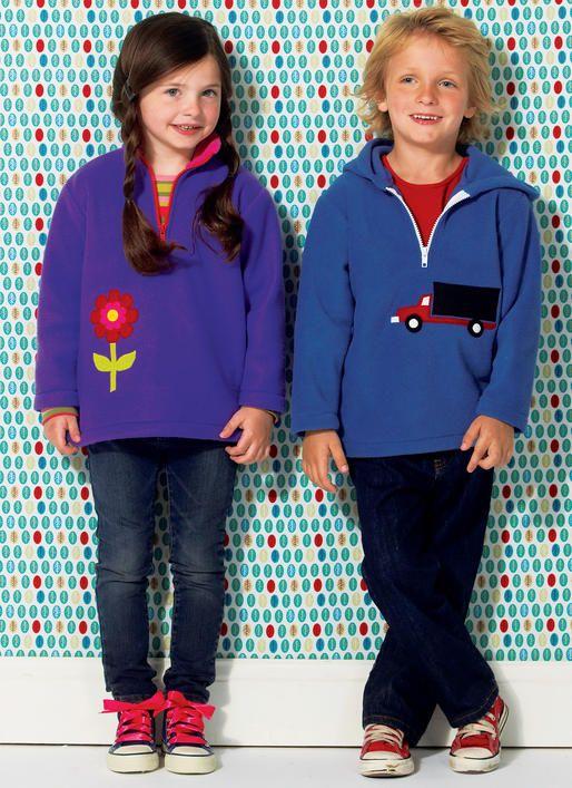 KWIK-SEW PATTERNS K4025 Boys//Girls Tops Sewing Template All Sizes by KWIK-SEW PATTERNS