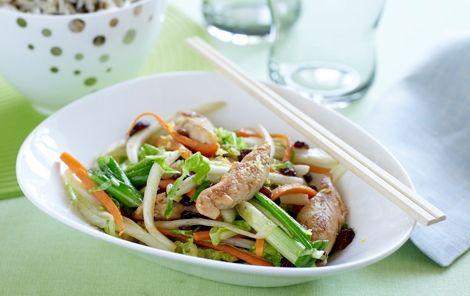 Kylling i wok