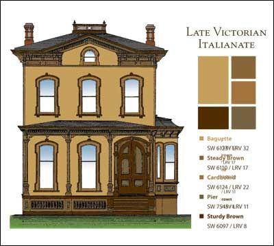 Victorian Paint Colors 20 best victorian house images on pinterest | house exteriors