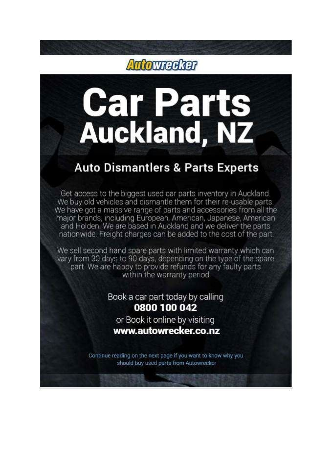 Pin by Auto Wrecker on Second Hand Car Parts | Pinterest | Cars