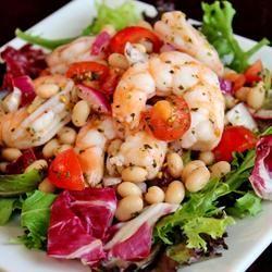 Shrimp and White Bean Salad Recipe - Allrecipes.com