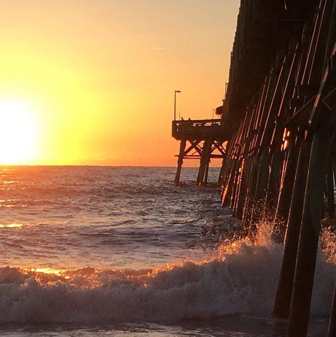 Garden City Beach Pier | South Carolina | Sunrise | South Of Myrtle Beach |  One