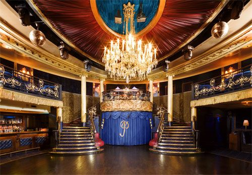 The Cafe de Paris in London is one of the glitzy places where the Bright Young Things partied