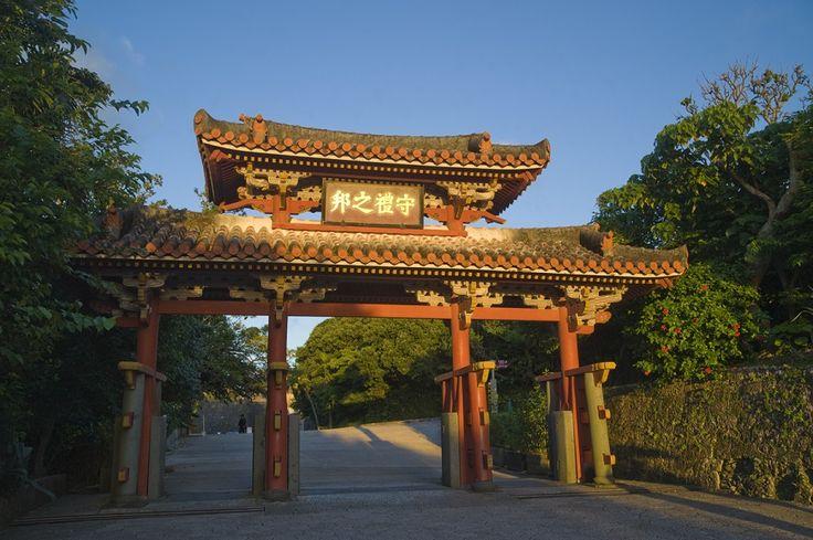 首里城の守礼門 / Shureimon Gate