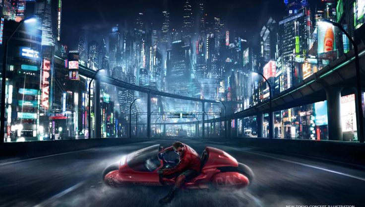 Pieces of movie concept art for Warner Bros.' long-in-the-works Akira live-action adaptation have emerged.