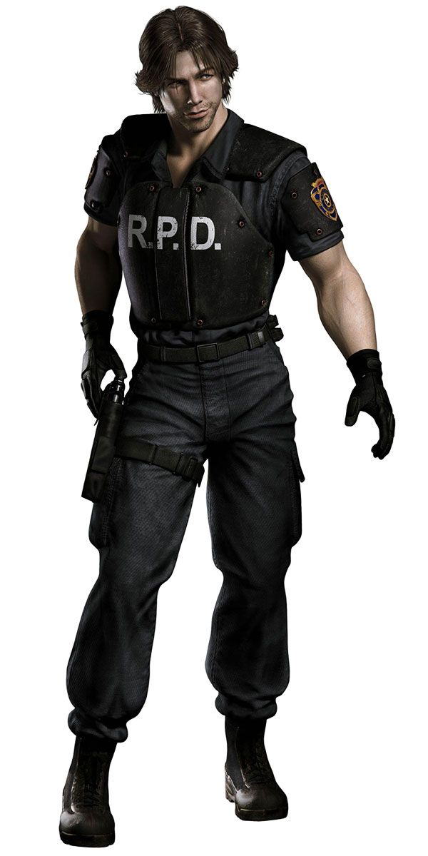Kevin Ryman - Resident Evil Outbreak<---- I'm pretty sure that's Sam Winchester