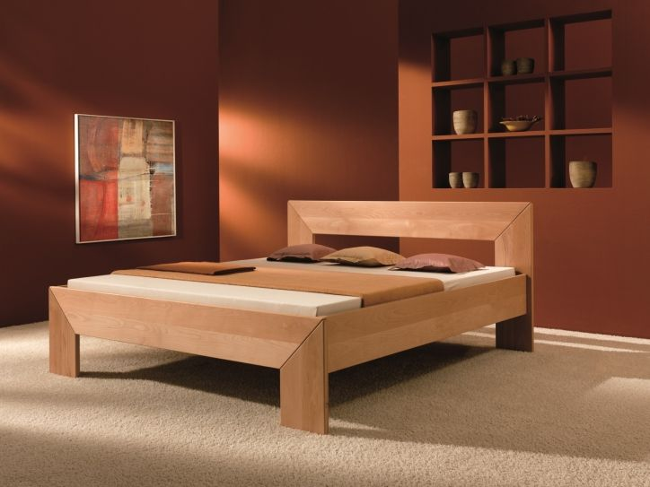 Modern Wooden Beds : Modern wood bed, Wood beds and Bed designs on Pinterest