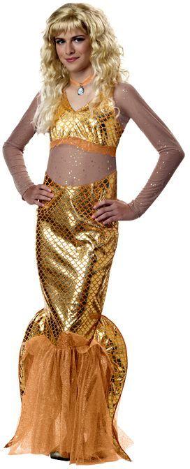 Little Mermaid Halloween Costume For Kids