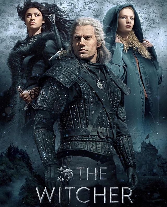 Novo pôster de The Witcher! serie netflix thewitcher