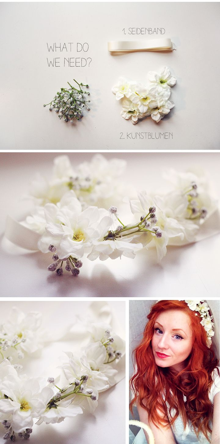 diy flower headband