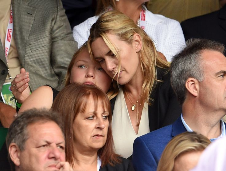 Kate Winslet and Her Kids Turn Wimbledon Into a Family Affair