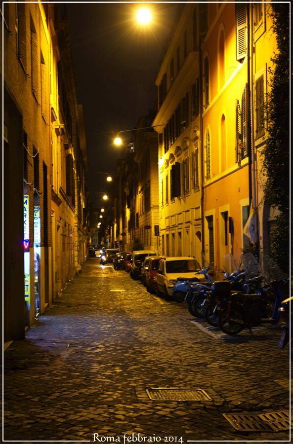 Ночные улочки Рима