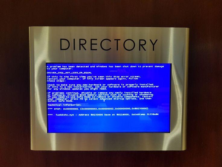 Building directory in Portland Oregon #bsod #pbsod