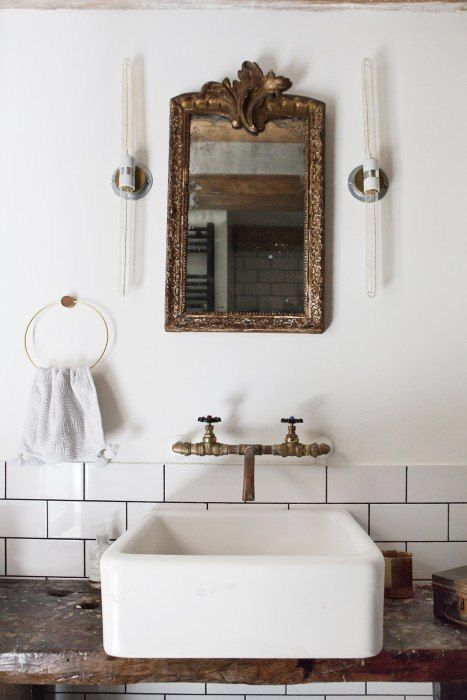 Vintage Bathroom Ideas best 25+ vintage bathroom mirrors ideas on pinterest | basement