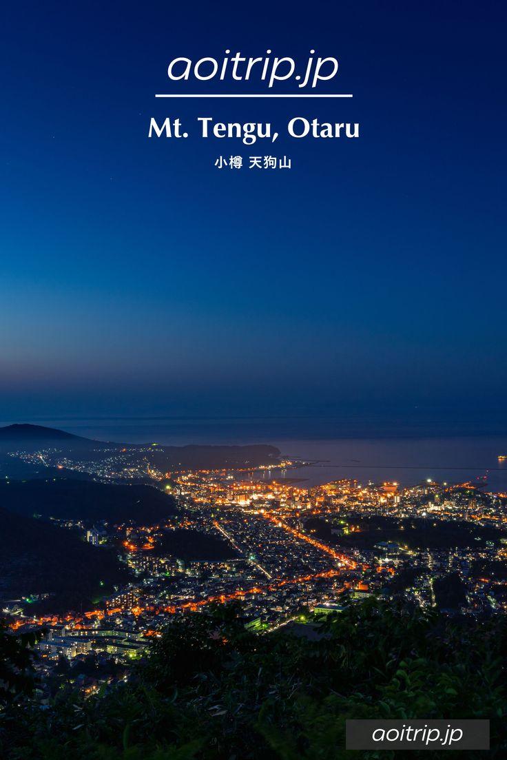 小樽を一望する天狗山展望臺 Mount Tengu, Otaru【2020】   旅行, 夜景, 旅行寫真